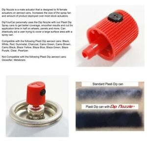 Plasti Dip wide spray DYC Dip Nozzles now available in CANADA!