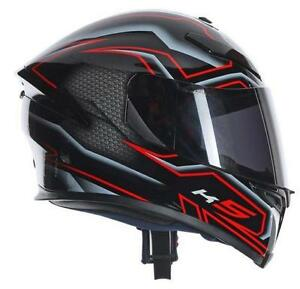 AGV K5 Deep Red/ Carbon, Super light Helmet