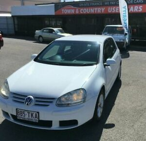 2008 Volkswagen Golf TDI Edition White Automatic Hatchback Garbutt Townsville City Preview