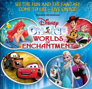 GREAT DEAL ★Disney On Ice: Worlds of Enchantment SAT Dec 3★11AM
