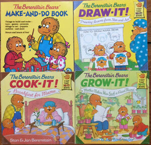 BERENSTAIN BEARS Craft and Activity Books all 4  for $15