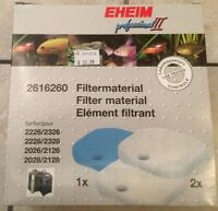 FILTER MATERIAL AND FILTER PEAT FOR EHEIM CANISTER FILTER