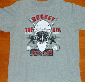 SIZE XS/4 TCP - Boys Short Sleeve Top - Hockey Top Division