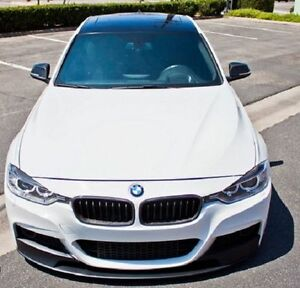 BMW F30 M PERFORMANCE Front Bumper, Side Skirt & Rear Bumper