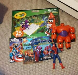 Toys/Colouring Items