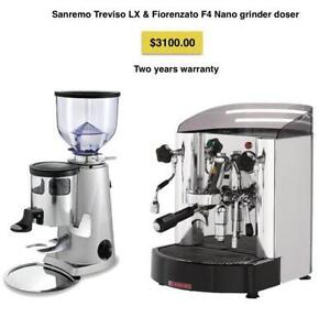 Treviso LX Coffee Machine and Grinder Package
