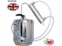 Stainless Steel Pressure Cooker & Distiller Alcohol Moonshine 3.5 -24ltr