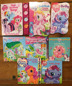 MY LITTLE PONY BOARD BOOKS $2 each or all 8 for $10