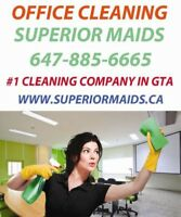 House and office cleaning by Superior Maids!