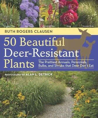 50 Beautiful Deer-Resistant Plants : The Prettiest Annuals, Perennials, -