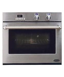 """30"""" SINGLE WALL OVEN STAINLESS STEEL BY DCS"""