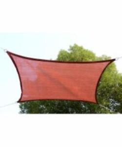 19.7' Rectangle Sail Shade Awning Shelter Cover / UV Top Canopy