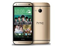 HTC One mini 2 16gb Gold Unlocked *Grade B*