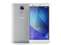 Huawei Honor 7, 4G LTE, Dual Sim, Fantasy Silver (PLK-L01) *Brand new & Sealed*