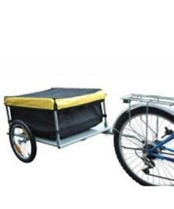 Bicycle Cargo Trailer black yellow / Cargo TRAILER with hitch