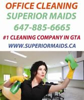 free estimate, low prices, office, condo, house! Superior Maids!