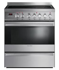 Cuisinière FISHER&PAYKEL 30, Stainless/ Stove, Self-cleaning