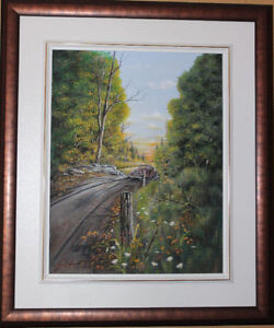 Don Wise Original Signed Oil Painting - Framed