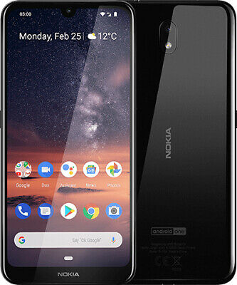 "Nokia 3.2 DualSim 16 GB LTE Handy Android Smartphone 6,26"" Display 13 MP schwarz"