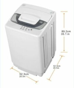 Home Comfort 1.7 Cu Ft / 12 Lb /5.5 kg Capacity Pulsator Washer