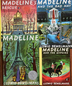 MADELINE picture books $3 each or all 4 for $10
