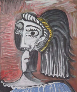 Awesome Special! Pablo Picasso Limited Ed Print -Tete de Femme