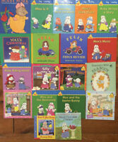 MAX AND RUBY by ROSEMARY WELLS $2 each 20/$30