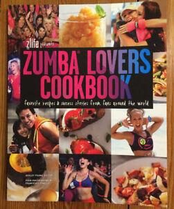 ZUMBA LOVERS COOKBOOK - brand new - $5