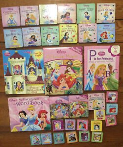 HUGE collection of DISNEY PRINCESS BOARD BOOKS 33 for ONLY $20