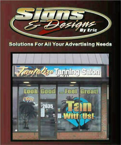 Signs, Banners, Graphics, Vinyl Decals, Large Format Printing Windsor Region Ontario image 1