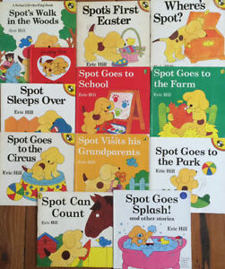 SPOT picture books by Eric Hill $3 each or 13 for $25