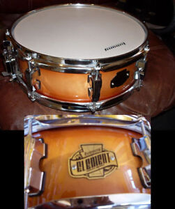 MÉGA DEAL Caisse claire Snare LUDWIG Element 14 X 4 100% birch