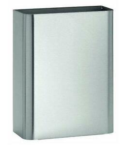 Stainless Steel Surface Mounted Waste Receptacle, 6.5 Gallon Ca