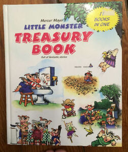 Mercer Mayer's LITTLE MONSTER Treasury 11 books in 1 - $10