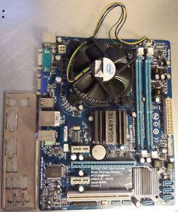 Intel / AMD Motherboard+Dual Core CPU+Heatsink&Fan+I/O Shield