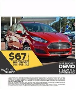 2016 Ford Fiesta WZ Ambiente Candy Red 6 Speed Automatic Hatchback Capalaba West Brisbane South East Preview