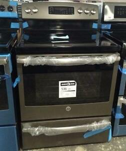 Stainless Stove 30'', Convection, Self-cleaning