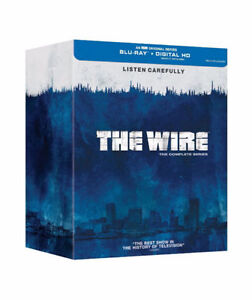 The Wire Complete Series Blu Ray (Never Opened)