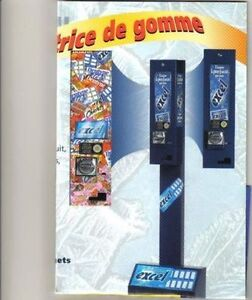 MACHINES DISTRIBUTRICES A GOMMES ET CHIPS