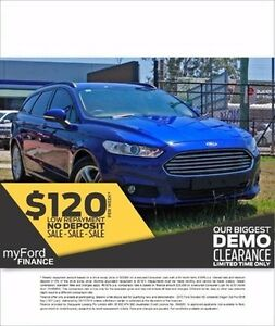 2015 Ford Mondeo MD Ambiente Wagon Deep Impact Blue Automatic Wagon Capalaba West Brisbane South East Preview