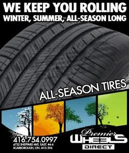 BEST ALL SEASON TIRE PRICES IN THE GTA ONLY AT WHEELS DIRECT
