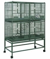 ♥☆.¸.•´¯`♥HQ Stackable Bird Breeding Cages 40x20♥☆.¸.•´¯`♥