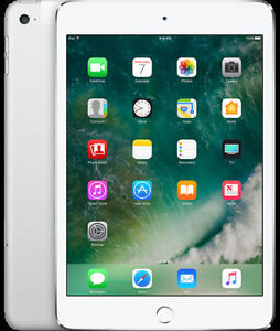 --- Ipad Mini - 4, 32 GB, WiFi + Cellulaire couleur Silver