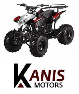 Brand New 125cc Mid-Size ATV's for $749.99! Limited time Offer!