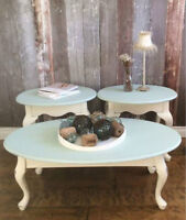 Coffee with 2 end tables