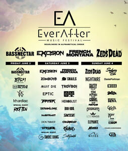EVER AFTER - GA 3-DAY TICKETS AND VIP