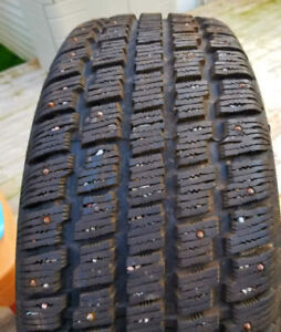 Selling 4 205/55/16 studded winter tires