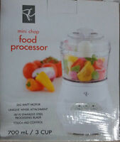 PC Mini Chop Food Processor 700ml 260 Watt Motor BRAND NEW