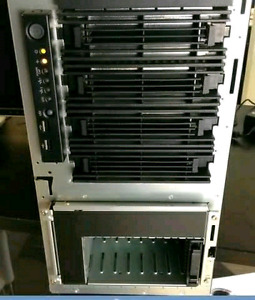 HP ML350 tower for NAS: 8 cores/16 threads + 24 GB DDR3 !!