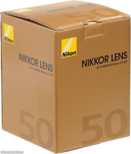 Nikon 50mm f1.8G Brand New in Box Never Used with full Warranty
